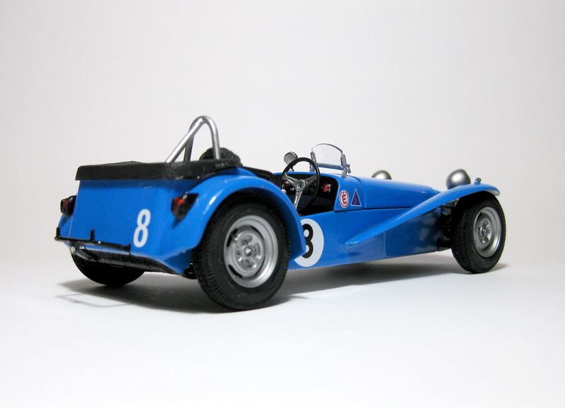 MT: Lotus Super 7 Series II- Clubman Racer - Tamiya 1/24 . 1017