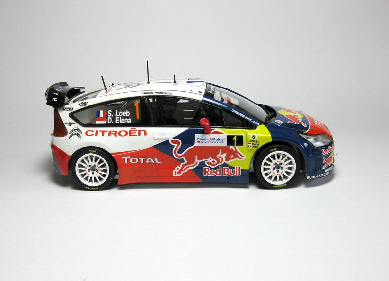 MT: Citroën C4 WRC - S. Loeb-D. Elena - Heller 1/24 1318