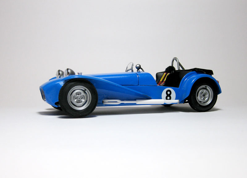 MT: Lotus Super 7 Series II- Clubman Racer - Tamiya 1/24 . 1611