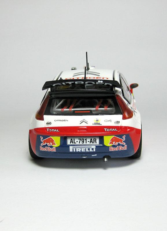 MT: Citroën C4 WRC - S. Loeb-D. Elena - Heller 1/24 1816
