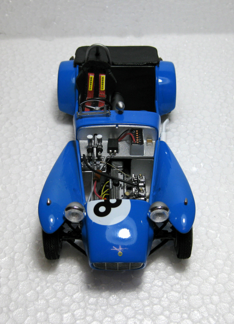 MT: Lotus Super 7 Series II- Clubman Racer - Tamiya 1/24 . 1913