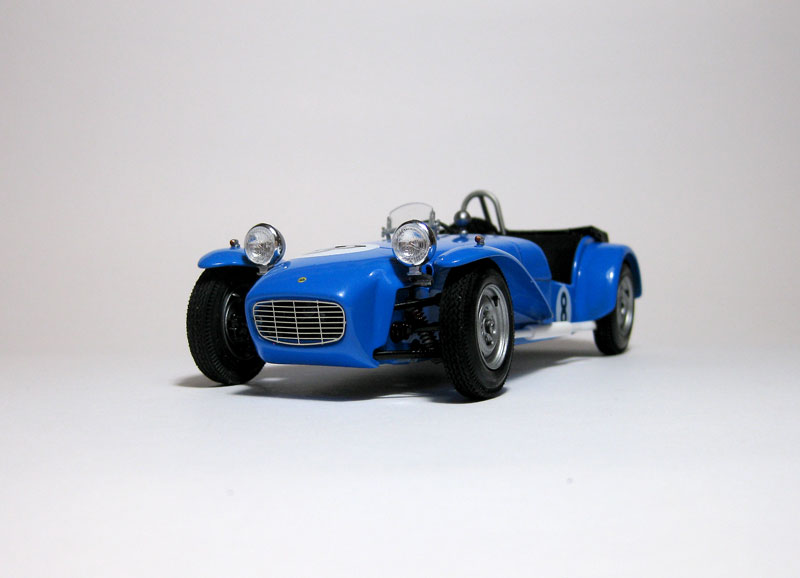 MT: Lotus Super 7 Series II- Clubman Racer - Tamiya 1/24 . 220