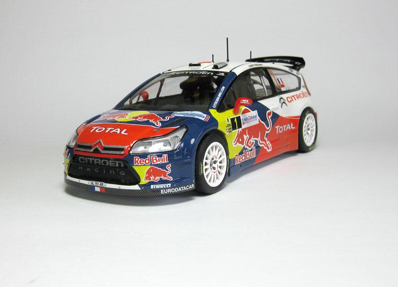 MT: Citroën C4 WRC - S. Loeb-D. Elena - Heller 1/24 2312