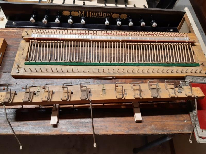 Mon harmonium (reed organ) Hörügel 20200719