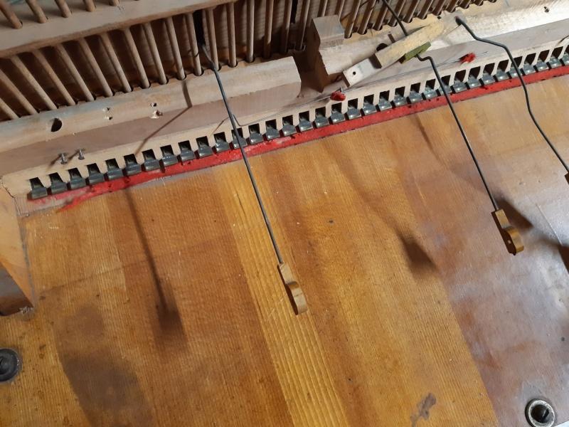 Mon harmonium (reed organ) Hörügel 20200910