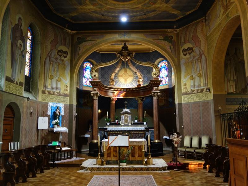 Orgue Stahlhuth du prieuré d'Ottmarsheim (68) Dsc00911