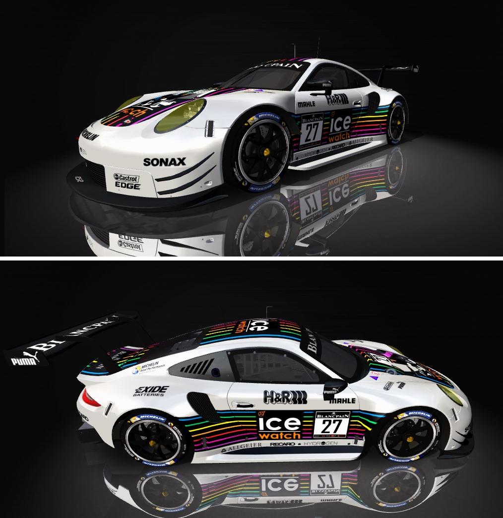 Porsche 911 RSR Skin pack & Upgrade Patch Ice_wa10