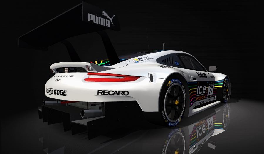 Porsche 911 RSR Skin pack & Upgrade Patch Ice_wa11
