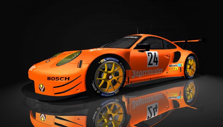 Porsche 911 RSR Skin pack & Upgrade Patch Jziger11