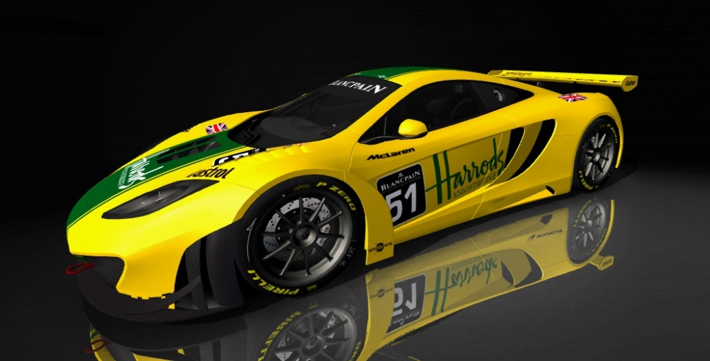Mclaren MP4-12C GT3 Car Mod Mclare11