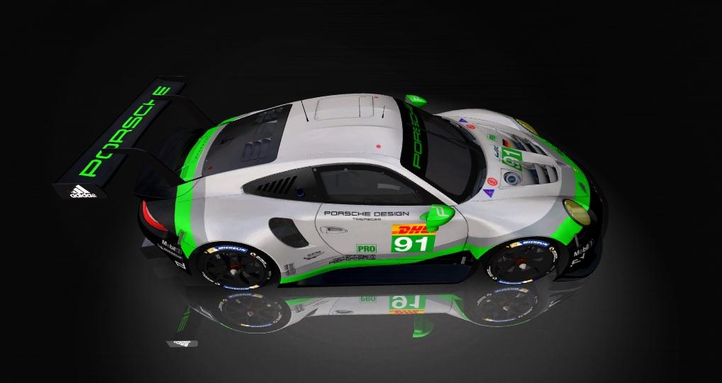 Porsche 911 RSR Skin pack & Upgrade Patch Porsch19