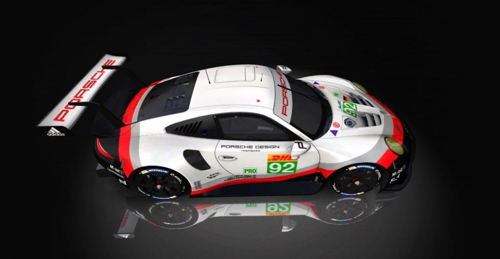 Porsche 911 RSR Skin pack & Upgrade Patch Porsch20