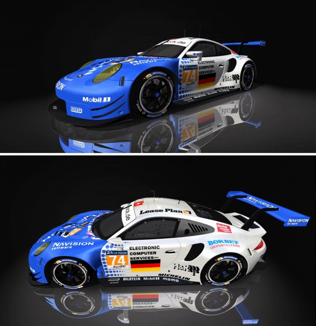 Porsche 911 RSR Skin pack & Upgrade Patch Roock_10