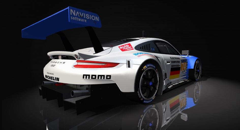 Porsche 911 RSR Skin pack & Upgrade Patch Roock_11