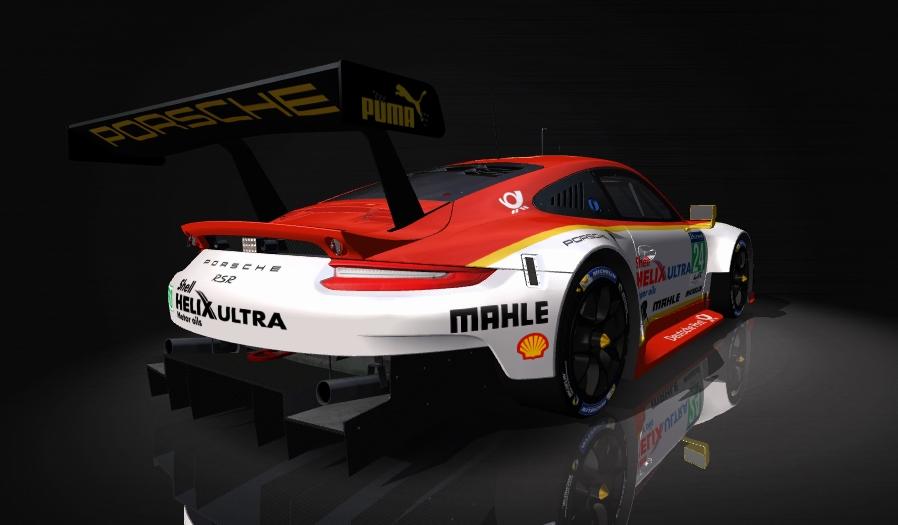 Porsche 911 RSR Skin pack & Upgrade Patch Shell_11
