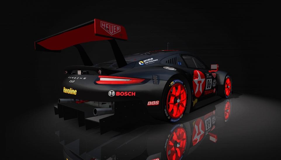 Porsche 911 RSR Skin pack & Upgrade Patch Texaco11