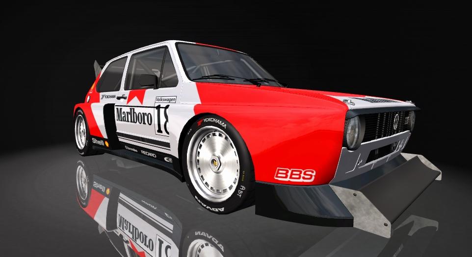 Volkswagen MK1 GTI Volksw40