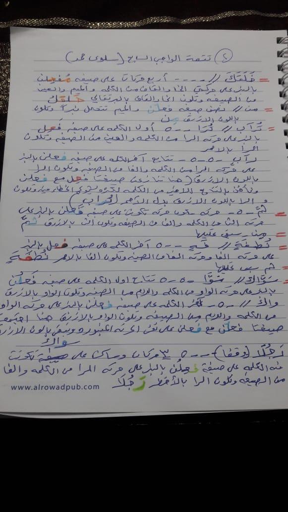 الواجب السابع / الدورة الخامسة - صفحة 5 Ai_aya10