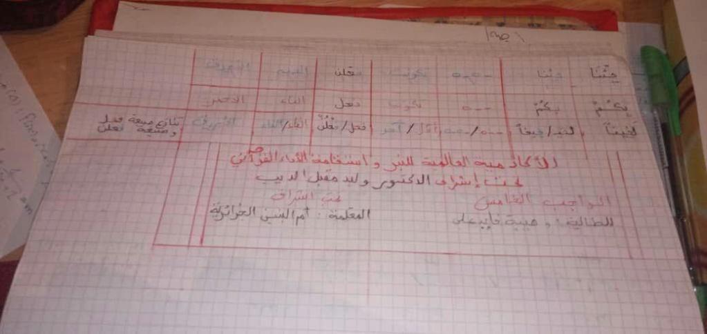 الواجب الخامس / الدورة السابعة - صفحة 11 Oumtah10