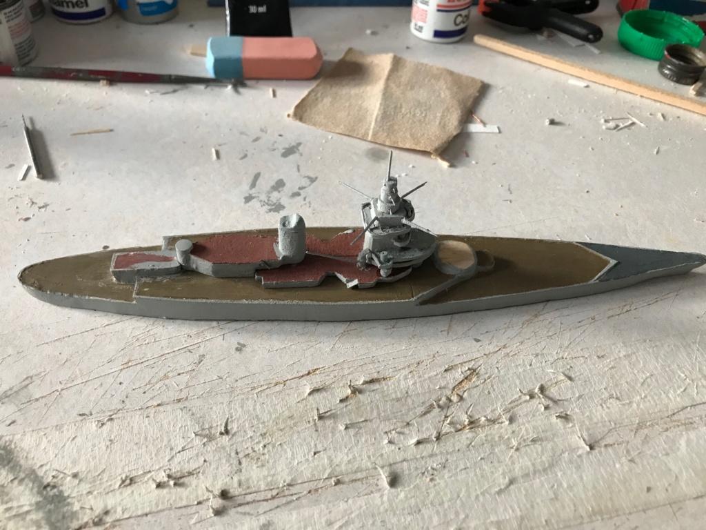Diorama marine française 1940 - scratch carton - 1/1000 Img_3642