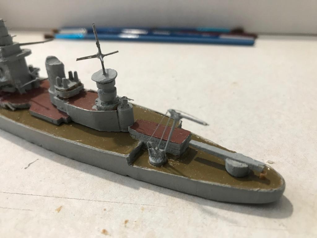 Diorama marine française 1940 - scratch carton - 1/1000 Img_3710