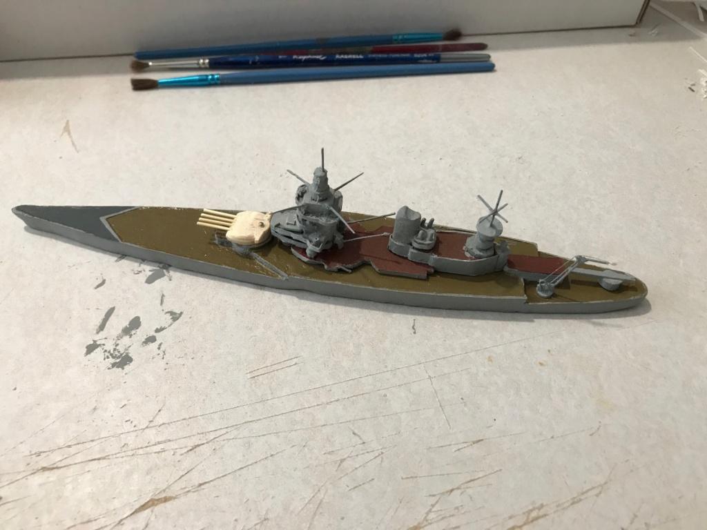 Diorama marine française 1940 - scratch carton - 1/1000 Img_3711
