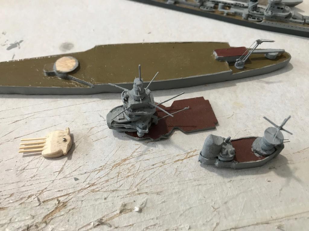 Diorama marine française 1940 - scratch carton - 1/1000 Img_3712