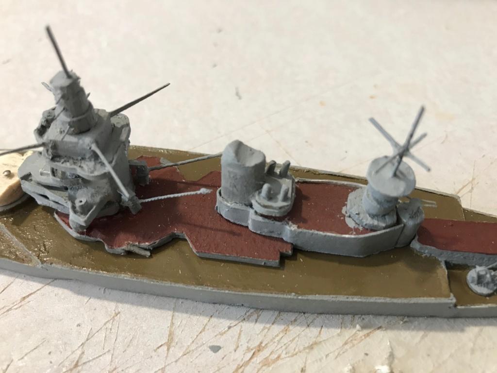 Diorama marine française 1940 - scratch carton - 1/1000 Img_3714