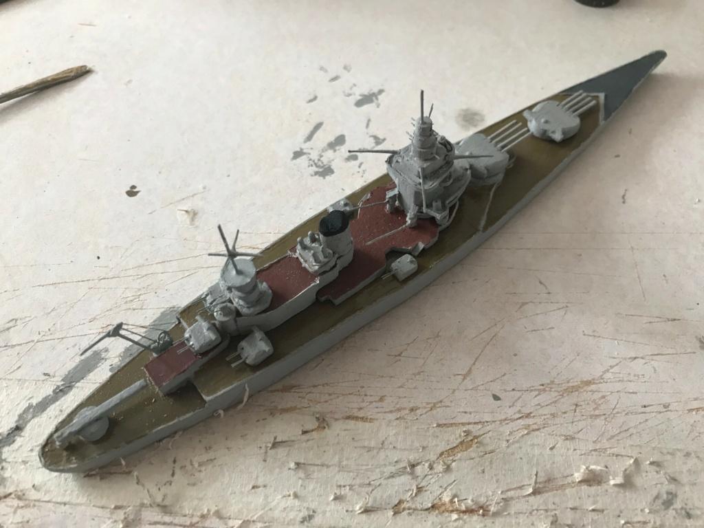 Diorama marine française 1940 - scratch carton - 1/1000 Img_3715