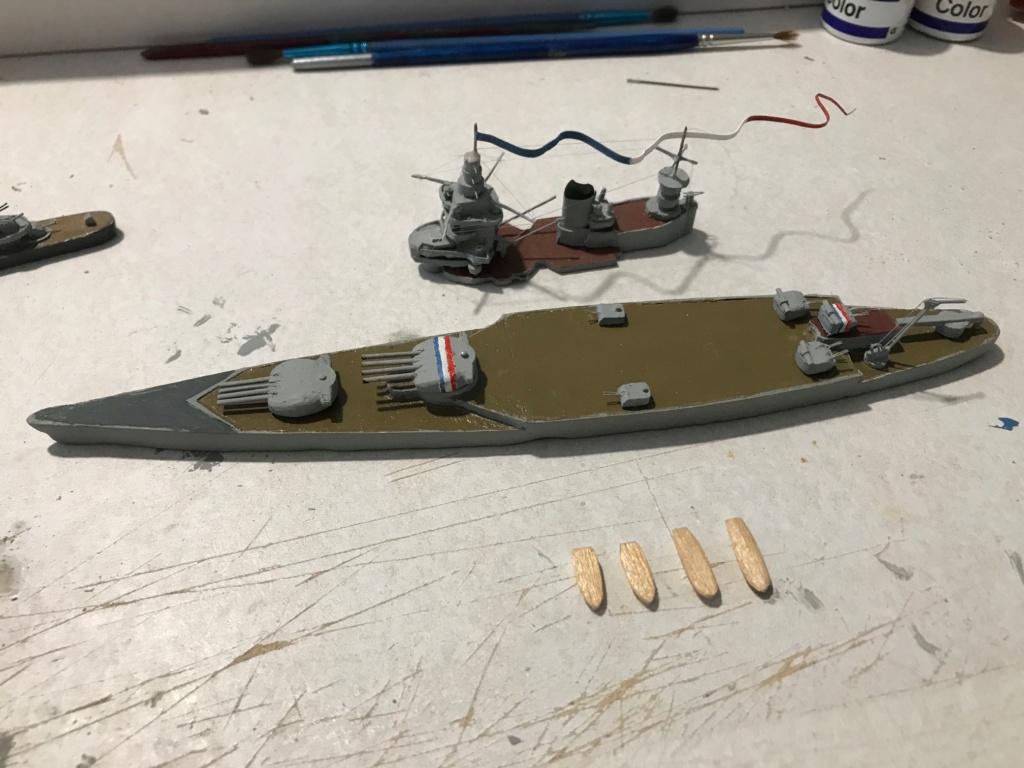 Diorama marine française 1940 - scratch carton - 1/1000 Img_3719