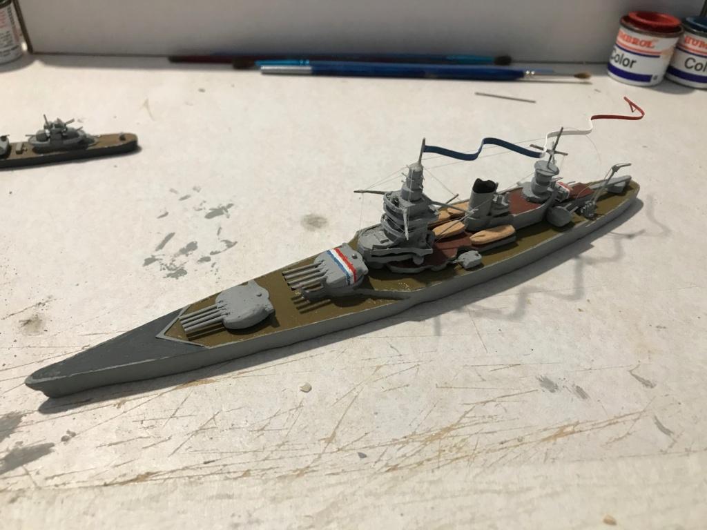 Diorama marine française 1940 - scratch carton - 1/1000 Img_3722