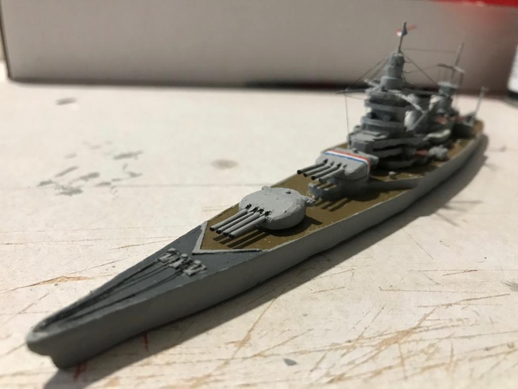 Diorama marine française 1940 - scratch carton - 1/1000 Img_3731