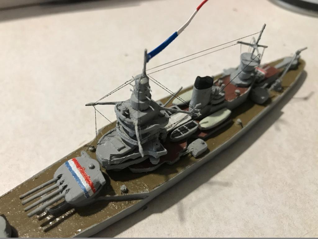 Diorama marine française 1940 - scratch carton - 1/1000 Img_3732