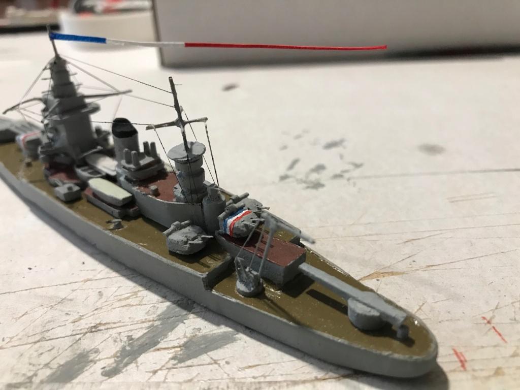 Diorama marine française 1940 - scratch carton - 1/1000 Img_3733