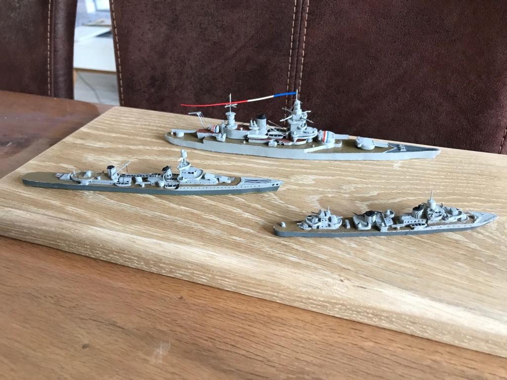 Diorama marine française 1940 - scratch carton - 1/1000 Img_3740