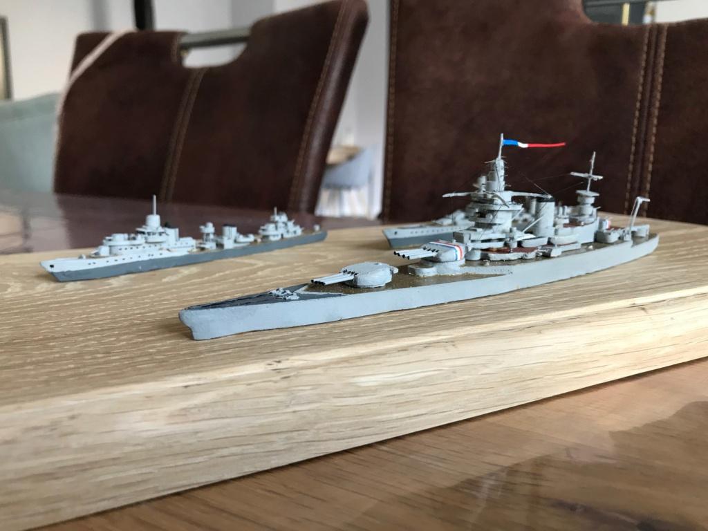 Diorama marine française 1940 - scratch carton - 1/1000 Img_3742