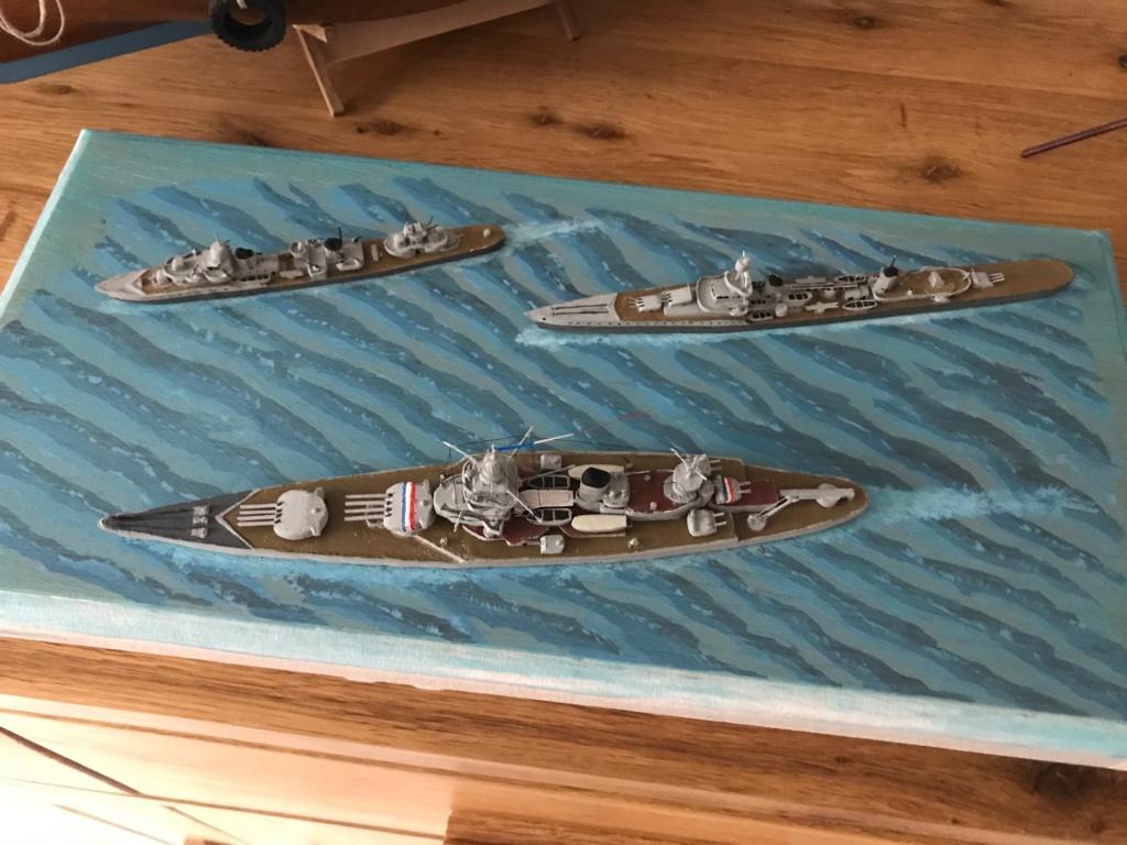 Diorama marine française 1940 - scratch carton - 1/1000 Img_3744