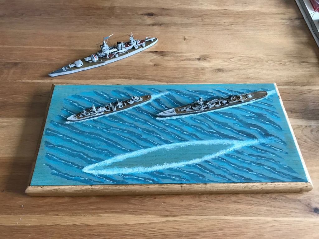 Diorama marine française 1940 - scratch carton - 1/1000 Img_3745