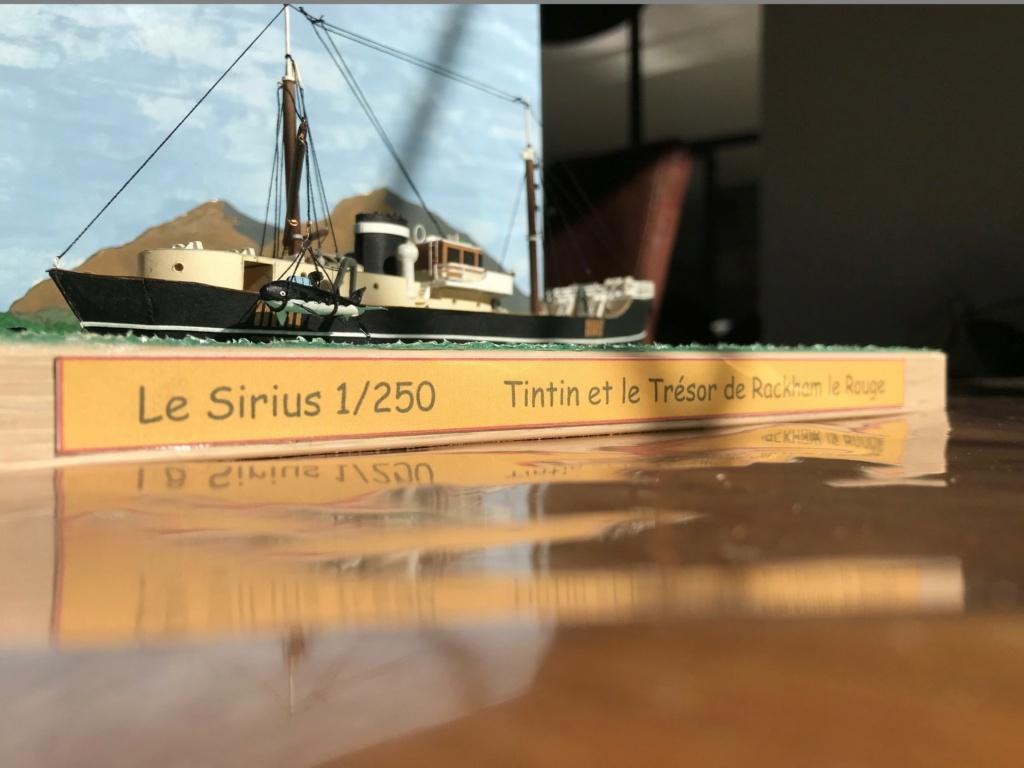 Le Sirius dans Tintin et le trésor de Rackham le rouge - 1/200 scratch Img_4717