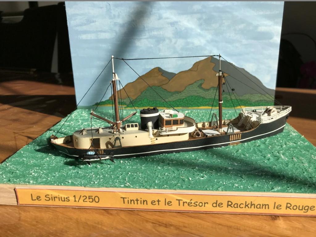 Le Sirius dans Tintin et le trésor de Rackham le rouge - 1/200 scratch Img_4722