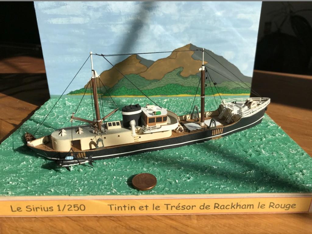Le Sirius dans Tintin et le trésor de Rackham le rouge - 1/200 scratch Img_4723
