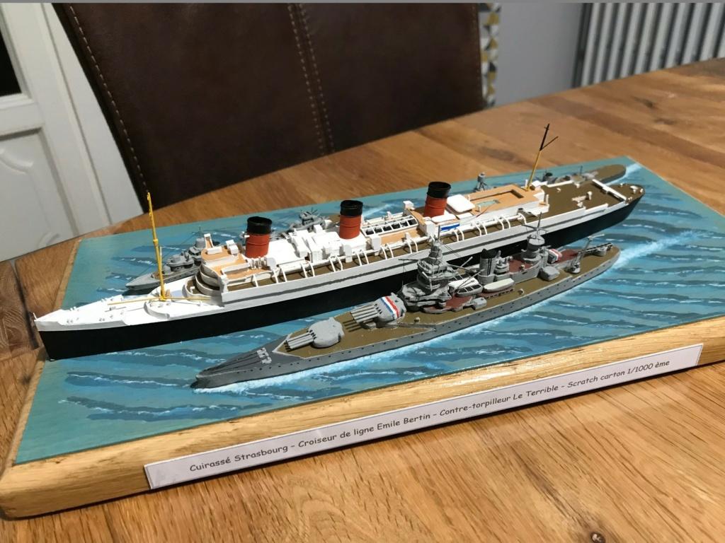 RMS Queen Mary I [scratch carton 1/1000°] de PADOU35 - Page 3 Img_4848