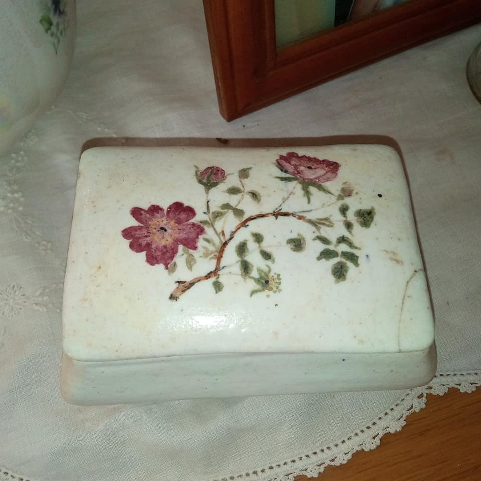 Bone China Sherwood Trinket Box Porcel11