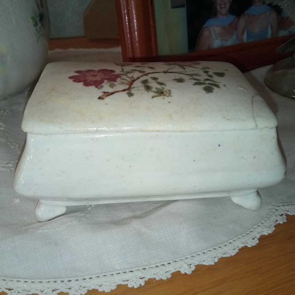 Bone China Sherwood Trinket Box Porcel12