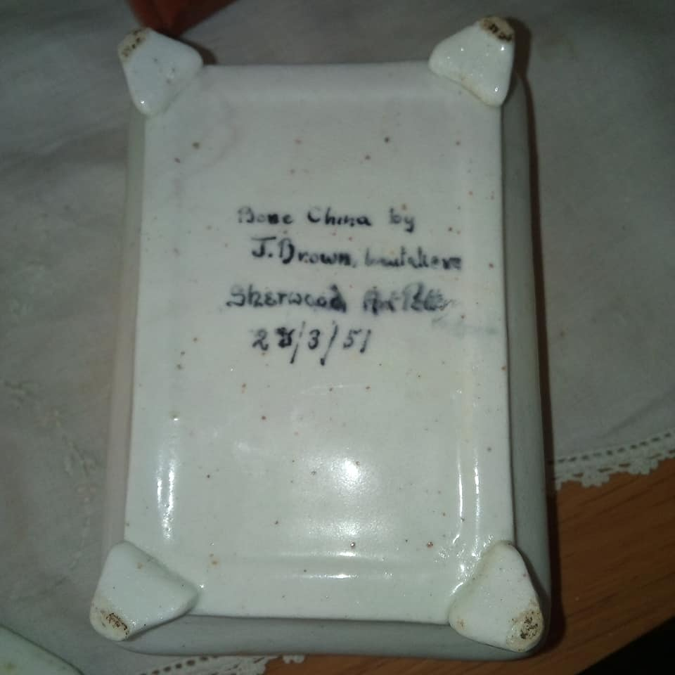 Bone China Sherwood Trinket Box Porcel13