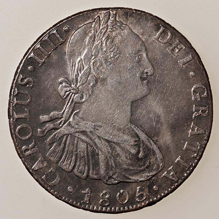 8 Reales 1805. Carlos IV. Potosí  _pas4520