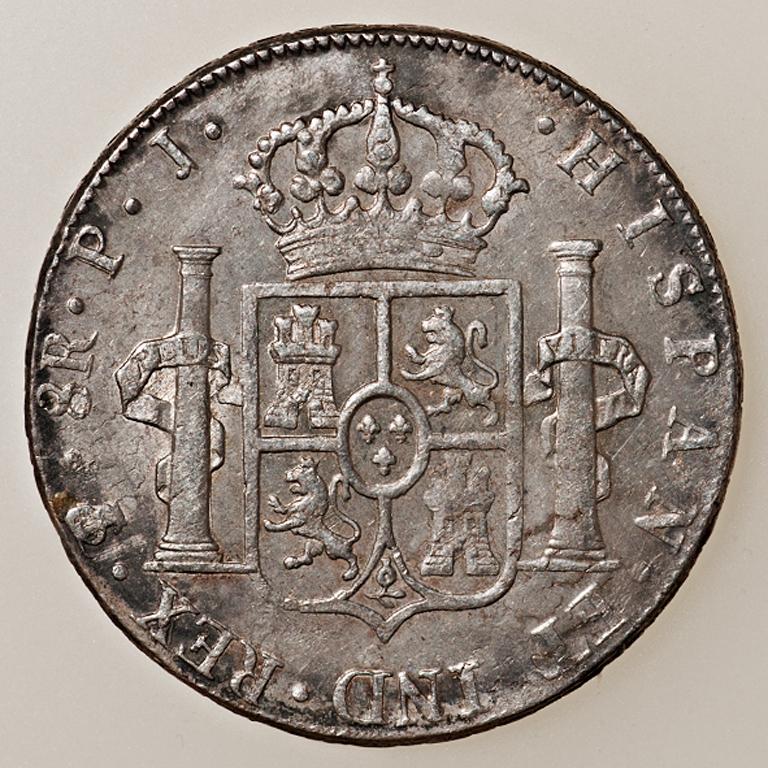 8 Reales 1805. Carlos IV. Potosí  _pas4521