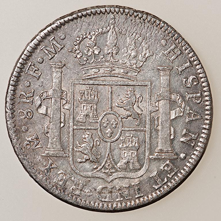 8 Reales 1795. Carlos IV. México  _pas4523