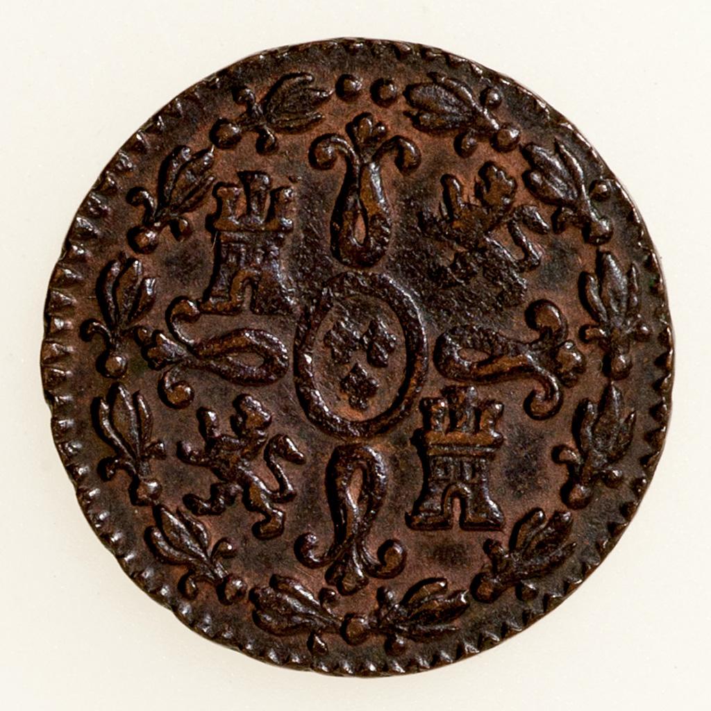 2 Maravedis 1831. Fernando VII. Segovia _pas4611