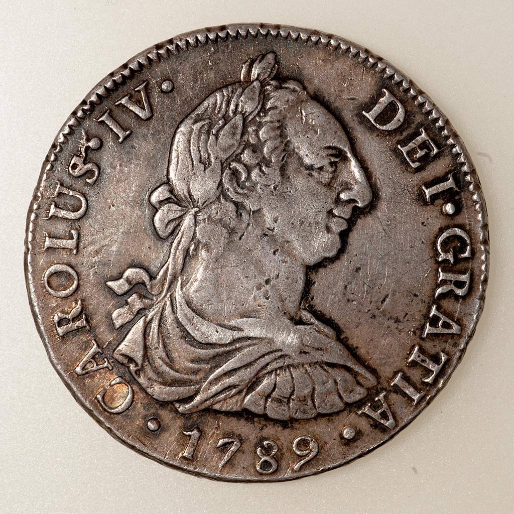 8 Reales 1789. Carlos IV. Lima. Busto Carlos III. - Página 2 _pas4616
